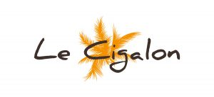 Le Cigalon Logo 300x137
